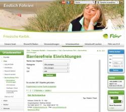 Bsp. Website-Ausgabe auf Föhr
